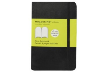 Classic Soft Plain Notebook Pocket