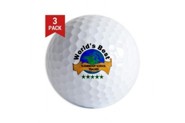 Teacher Golf Balls by CafePress