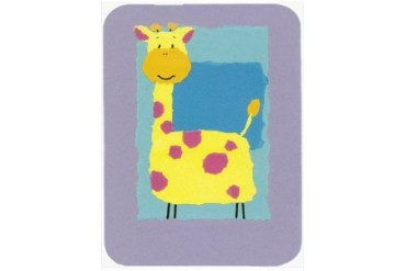 Giraffe Mouse Pad, Hot Pad or Trivet