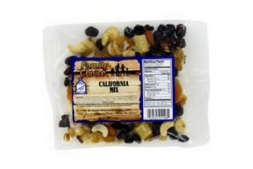 12 Pack Rucker S Candy 1146 8.5 Oz California Mix