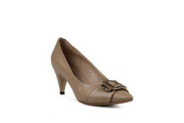 prima classe Prima Classe Demy Buckled Office Heels Cream