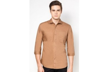 Solid Woven Shirt