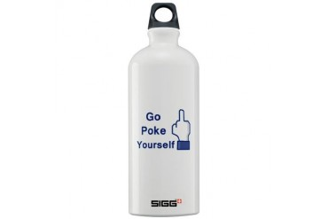 Funny Sigg Water Bottle 1.0L by CafePress