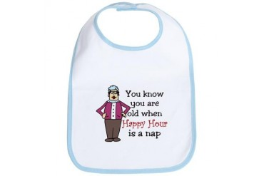 Happy Hour Grandma Bib by CafePress