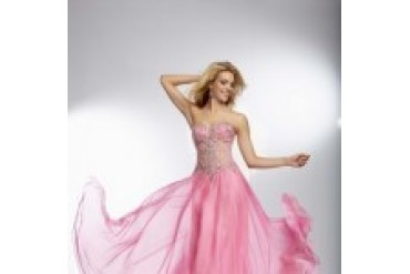 "Mori Lee Paparazzi ""In Stock"" Candy Pink Dress - Style 95070"