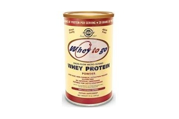 Whey To Go Protein Powder Natural Vanilla Flavor 12 oz
