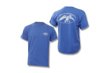 Duck Commander T-Shirt - Royal Blue Heather - XL