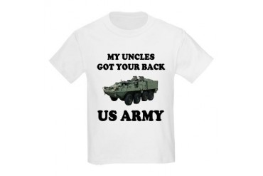 My Uncles Got Your Back ARMY Kids T-Shirt