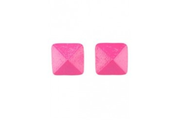 Fox's Accessories 3D Pyramid Earrings