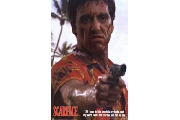 Scarface - Hawaiian Shirt Poster Print (23 x 34)