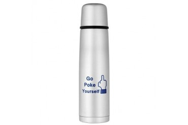 Large Thermos Bottle Funny Large Thermosreg; Bottle by CafePress