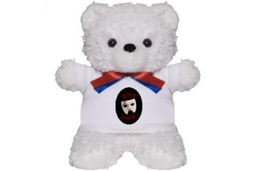 Phantom Christmas Teddy Bear
