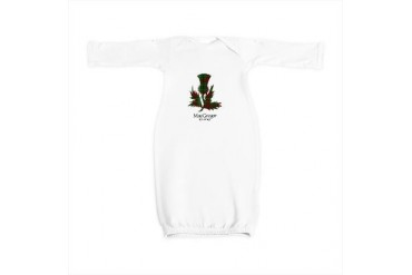 Thistle - MacGregor of Cardney Scottish Baby Gown by CafePress