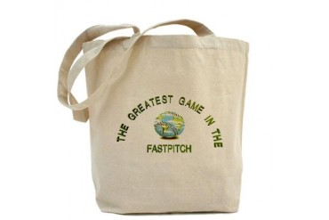 FASTPITCH GREAT FOR THE FIELD Perfectcircle Tote Bag by CafePress