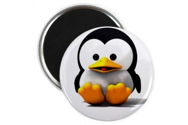 Penguin Penguin Magnet by CafePress