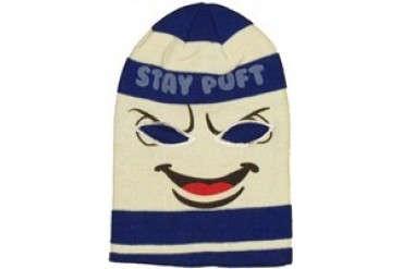 Ghostbusters Stay Puft Marshmallow Man Ski Mask Embroidered Beanie