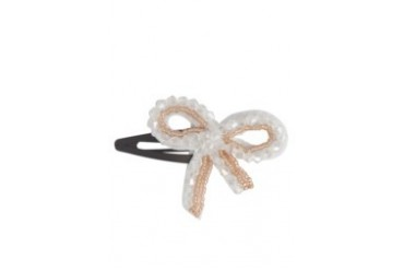 Handstitch Beaded Ribbon Clip