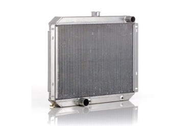 Be Cool Dual Core Radiator Module Assembly for AMC 4,6 or 8 Cylinder Engines with AutomaticTransmission 83223 Radiator