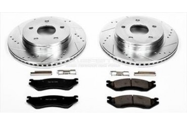 Power Stop Performance Brake Upgrade Kit K2167 Replacement Brake Pad and Rotor Kit