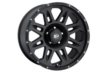 Pro Comp Alloy Wheels Series 7005, 17x8 with 5 on 5 Bolt Pattern - Flat Black 7005-7873 Pro Comp Xtreme Alloy Wheels