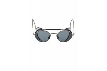 Thom Browne Grey And Navy Tb 001 Cage Sunglasses