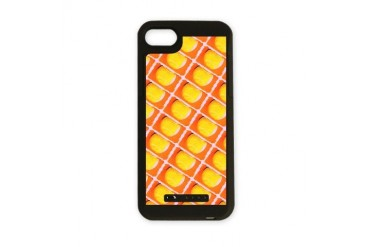 Orange Artsy Tennis Balls Designer iPhone Charger Sports iPhone Charger Case by CafePress