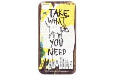 iPhone 4S - Take What You Need Phone Case
