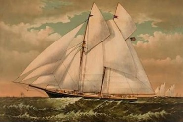 Yacht Norseman of New York 1882 Poster Print by Unknown (24 x 36)