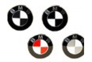BMW E39 Emblems Colored BMW Roundel Overlays