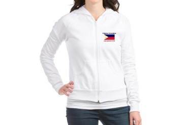 Proud Filipino Grandma Mother's day Jr. Hoodie by CafePress