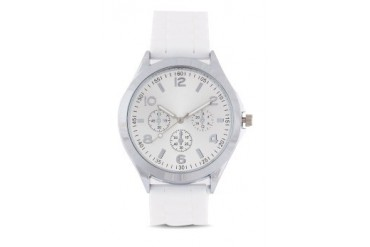 Something Borrowed Reflective Face Silicon Watch