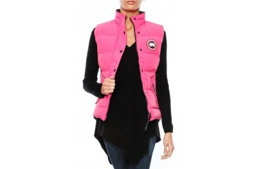 Freestyle Vest in Summit Pink - designed by Canada Goose