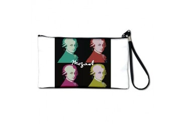 Mozart Portrait Music Clutch Bag by CafePress
