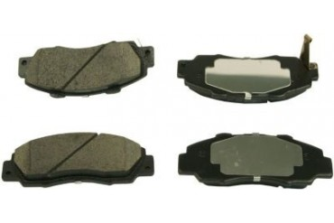 1998-2002 Honda Accord Brake Pad Set Beck Arnley Honda Brake Pad Set 086-1442C 98 99 00 01 02