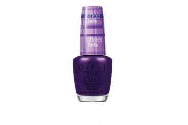 OPI Sheer Tint - Don't Violet Me Down