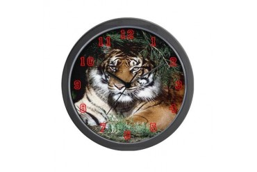 Tiger Clock, Tigers, Clocks, s Tiger Wall Clock by CafePress