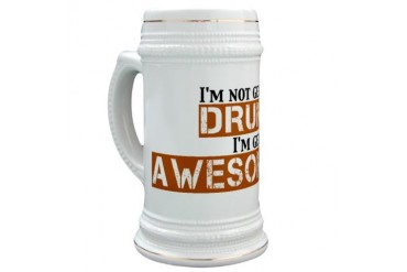 Drunk Awesome Stein