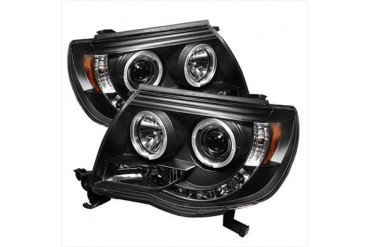 Spyder Auto Group Halo LED Projector Headlights 5011916 Headlight Replacement