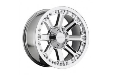 Pro Comp Alloy Wheels Series 6033, 20x9 with 6 on 5.5 and 6 on 135 Bolt Pattern - PVD Chrome 6033-2939 Pro Comp Xtreme Alloy Wheels