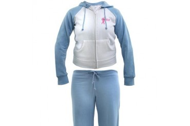 Breast Cancer Awareness Breast cancer Women's Tracksuit by CafePress