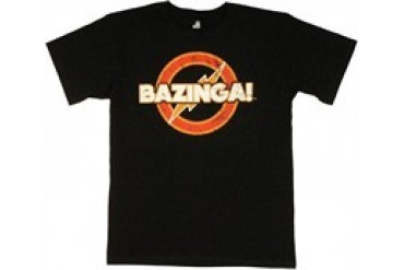 Big Bang Theory Vintage Bazinga Style Guide T-Shirt