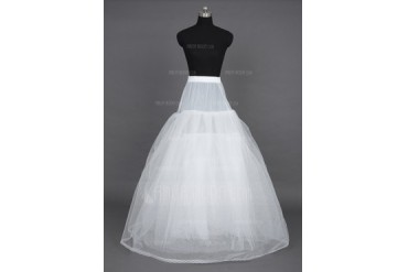 Women Nylon/Tulle Netting Floor-length 6 Tiers Petticoats (037023569)