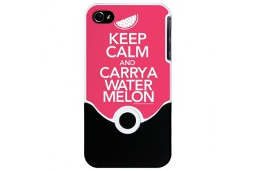 Keep Calm Carry a Watermelon iPhone 4 Slider Case