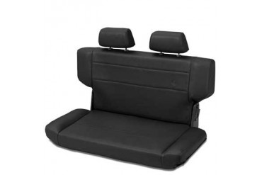 Bestop Trailmax II Fold and Tumble Rear Seat in Black Denim 39435-15 Seat