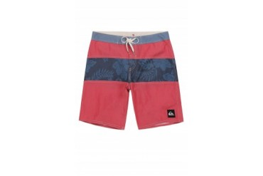 Mens Quiksilver Board Shorts - Quiksilver Mo Stripe Floral Boardshorts