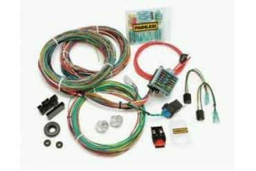 Painless Wiring 12 Circuit Weatherproof Wiring Harness 10140 Chassis Wire Harness