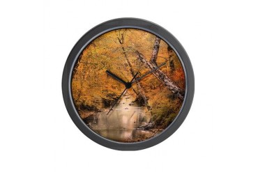 Autumn Riches 1 Colorful Wall Clock by CafePress
