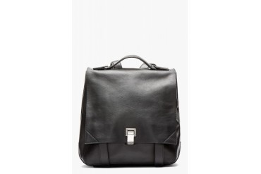 Proenza Schouler Black Ps Large Leather Backpack