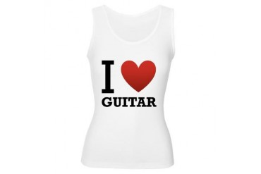 I-Love-Guitar.png Music Women's Tank Top by CafePress