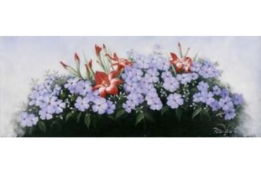 Flowers bouqet Poster Print by Peter Motz (24 x 48)